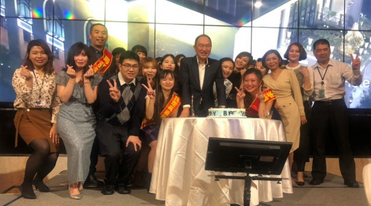 Happy birthday to Taichung branch office.